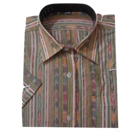 OSS8025: Latest handloom readymade shirts for men.