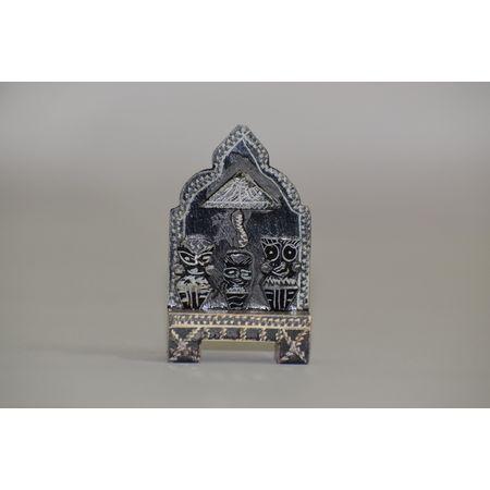 OSS400007: Black Stone Lord Jagannath Singhasan.