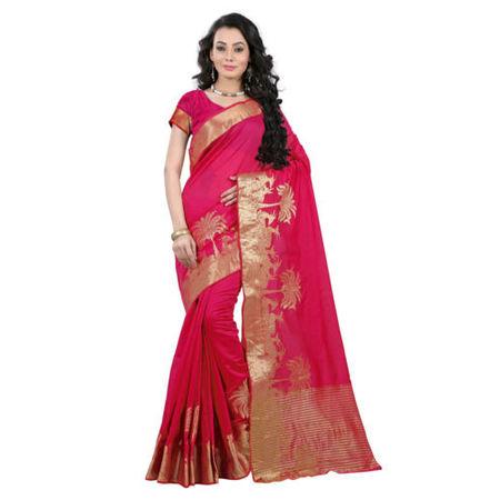OSSTN003: Traditonal handloom Kanjivaram Cotton Saree