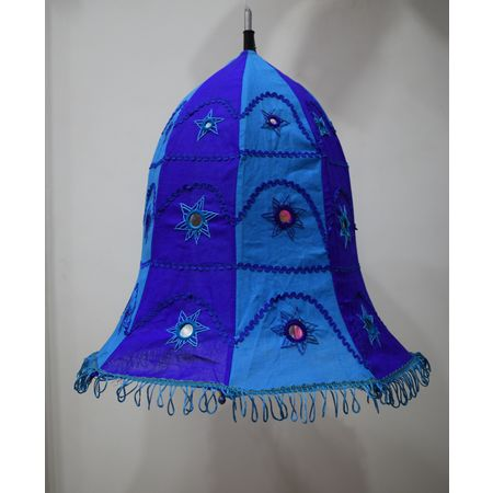 Embroidery With Mirror Work Handmade Pipili Lamp Shade AJ001694