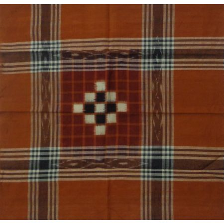 OSS262: Pure Cotton Handloom Handkerchief from Odisha