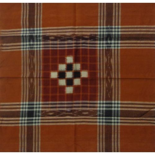 OSS262: Pure Cotton Handloom Handkerchief from Odisha (Set of 4 different colors)