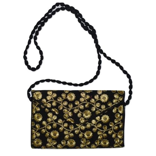 Handmade Fancy Ladies Bag With Mobile Folder AJ001263