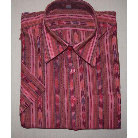 OSS8017: Cotton handloom shirt best for Puja (size- 40)