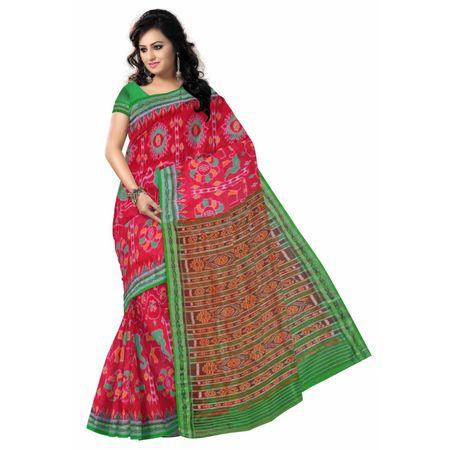 OSS279: Khandua design one of the best handloom silk saree in India