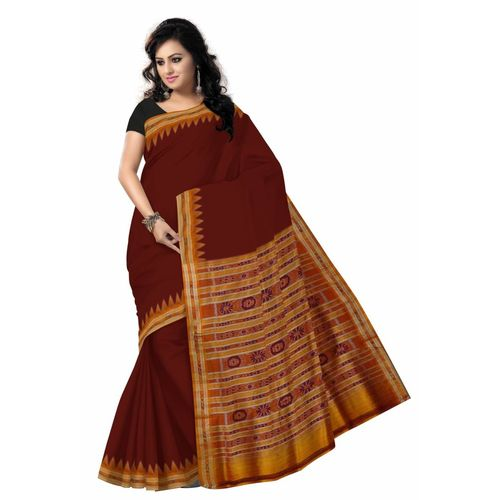 OSS5079: Best handwoven silk Saree made in pure malda silk