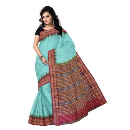 OSS5060: Handloom Silk Saree made in nuapatna cuttack