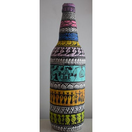 Hand Painted Tribal Craft AJ001293