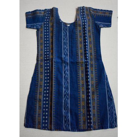 OSS8463: Handloom cotton Kurti for Baby girl