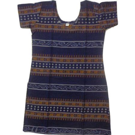 OSS8462: Handloom Cotton Kurti for girl.