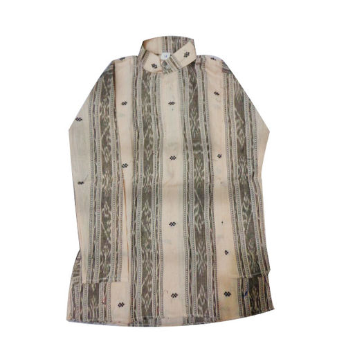 OSS8417: Odisha handloom cotton baby kurta