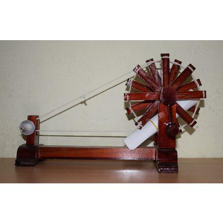 Handmade Charkha ( Spinning Wheel) AJ001236