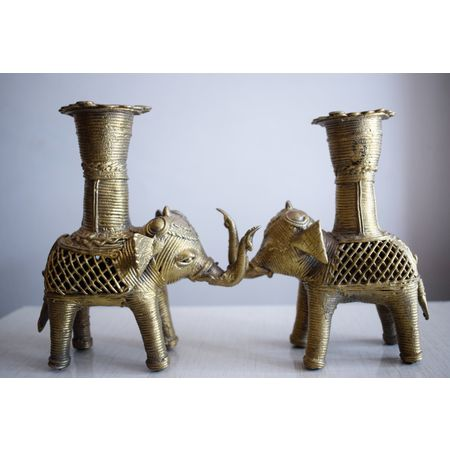 OHD009: Small Elephants Indian handicrafts online