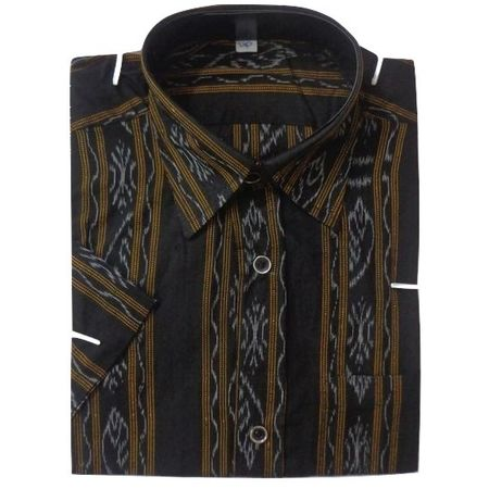 OSS8027: Indian Handloom casual dress for men's, perfect for puja wear