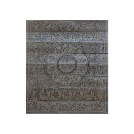 "OHP031: "" Lord Vishnu"" Dashaavtar patachitra painting's."