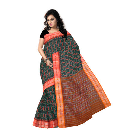 OSS129: Odisha Made Pure Cotton Handloom Saree