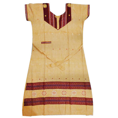 OSS3582: Best design cotton handloom nighty
