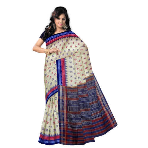 OSS287: Tusser color handloom cotton sarees