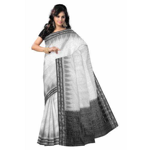 OSS966: jamdani style weaving odisha sarees