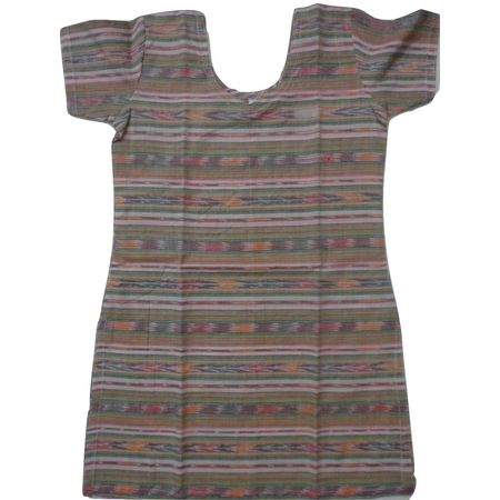 OSS8465: Handloom Cotton Kurti for Baby Girls.