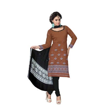 Odisha Handloom Bomkai Sambalpuri Cotton Salwar kameez Set AJ000524