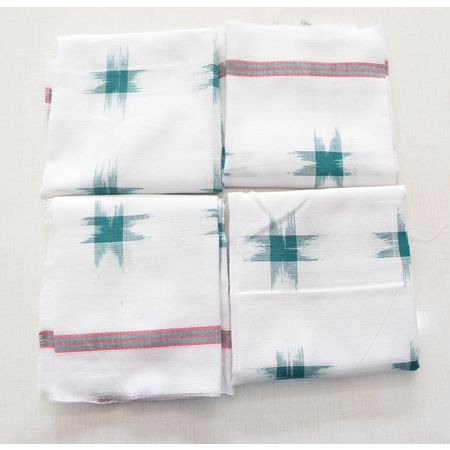 Handloom Cotton Handkerchief of Odisha, Sambalpur AJ001783