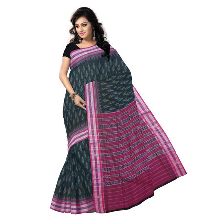 OSS1023: Alpana design Handloom cotton sari