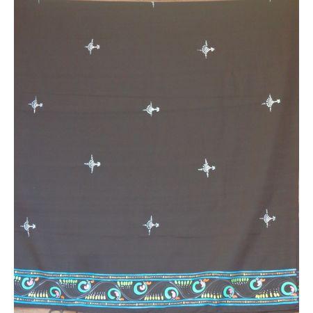 OSS30006: Patachitra design made on dupatta from Jagannath dham, Puri