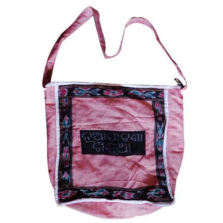 OSS056: Handloom Nuapatna Khandua shoulder Bags