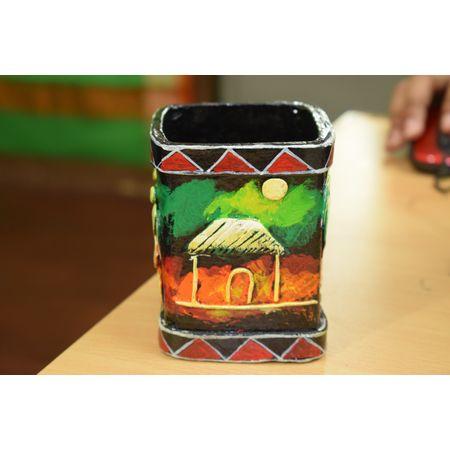 Handmade Paper Mache Penstand Art of OdishaAJ00111