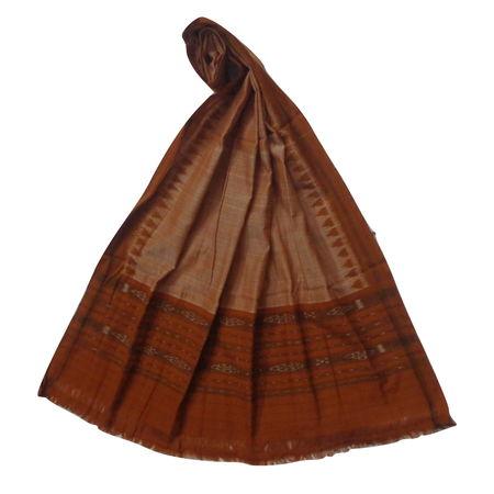OSS3572: Light Brown Dupatta for Young Girls for office wear