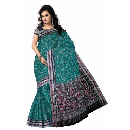 OSS225: Gorgeous coloured Indian handloom designer saree from sambalpur