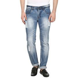 Stylox Regular fit Men's Blue Jeans(DNM6004), 34