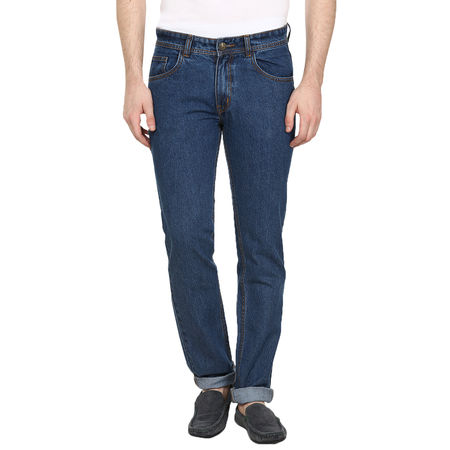 Stylox Regular fit Men s Blue jeans(DNM6009), 30