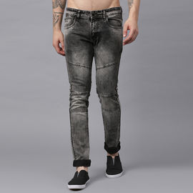 Stylox Men Mid Rise Brown Washed Jeans-DNM-BRCLD-4145-03, 34