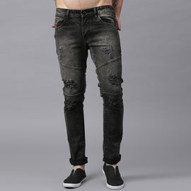 Stylox Men Mid Rise Brown Damaged Jeans-DNM-BRDMG-4145-01, 30