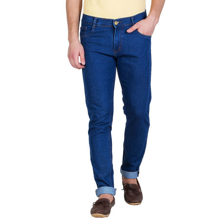 Stylox Blue Slim Fit Denim Jeans, 34