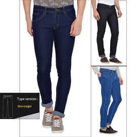 Stylox Men's Stylish Multicolor Slim Fit Jeans Pack Of 3-COMBO3-1002-1001-1003, 36