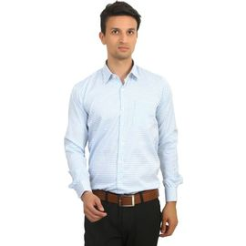 Stylox Men's Solid Casual White Shirt -037, l