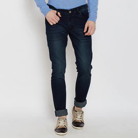 Stylox Premium Men's Stylish Stretchable Slim Fit Mid Rise Light Shaded Blue Jeans-DNM-BKT-4098, 32