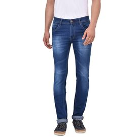 Stylox Men's Slim Fit Light Blue Jeans-DNM-S-LB-1012, 34