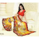 Printed Designer Fancy Saree -s043damyakok