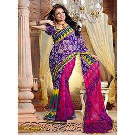 Printed Designer Kamalpati Saree - S024yuvikhee