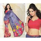 Printed Designer Fancy Saree -s046damyakok