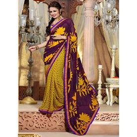 Printed Designer Kamalpati Saree - S012yuvikhee