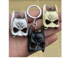 Batman Mask Metallic Keychain