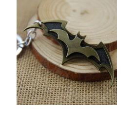 Batman Dual-Bat Metallic Keychain