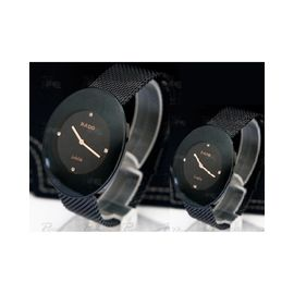 Imported RADO Esenza full Black Couple Watch