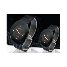 Imported RADO Esenza full Black Couple Watch