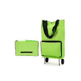 Multifunction Foldable Shopping Trolley Bags or Hand carry Bag with Inbuilt Foldable Wheels